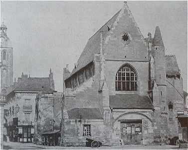 L'église Saint-Clément : la première halle de Tours