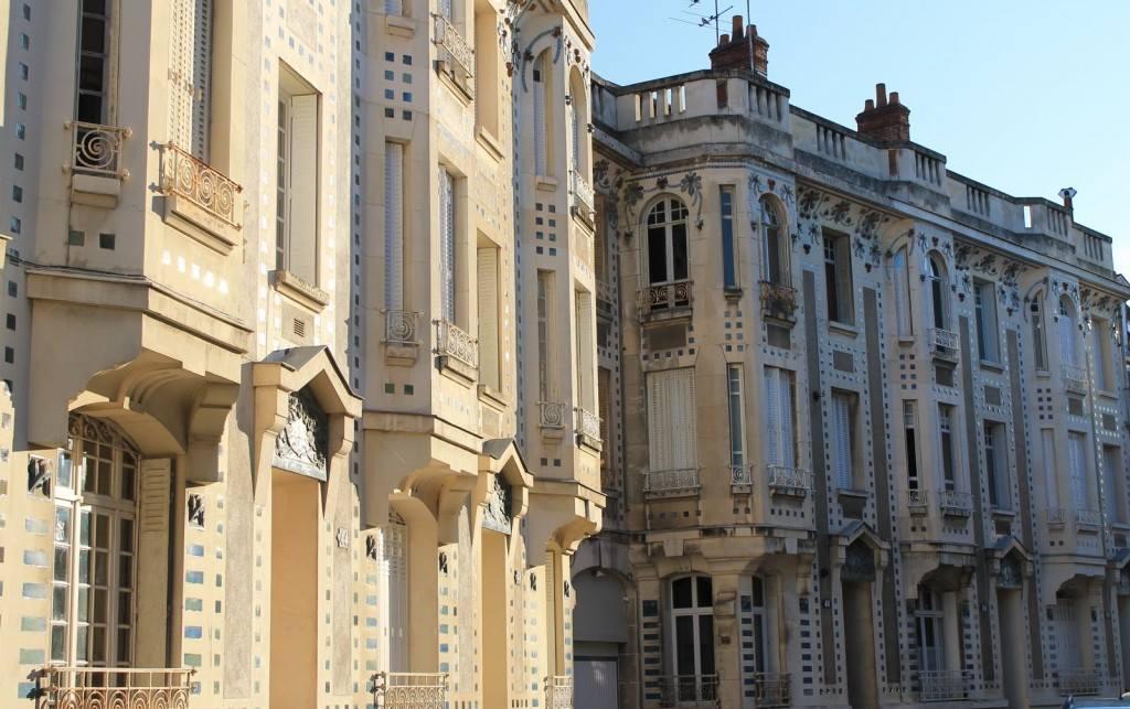 Immeubles Duthoo : entre Art Nouveau et Art déco
