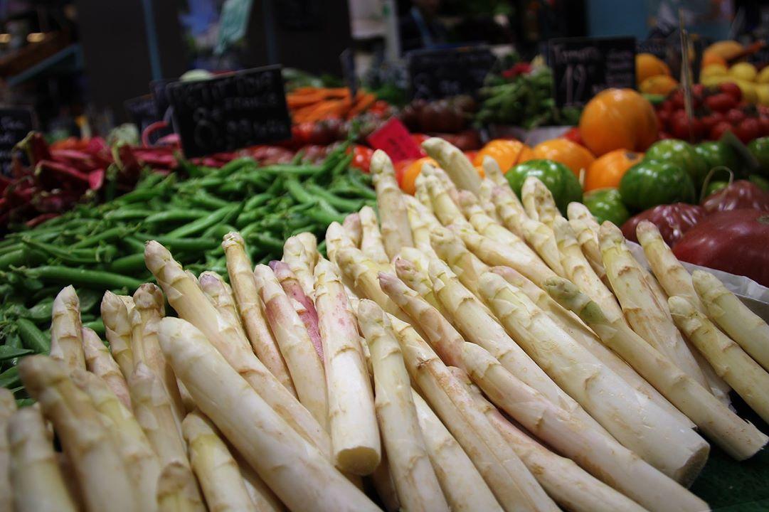 Le produit de saison : les asperges de Touraine